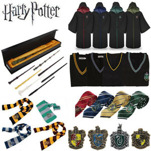 Harry Potter Serpentard Robe Cape Gryffondor Cosplay Costume Accessoires Gift FR