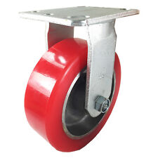 "6"" x 2"" Aluminum wheel Casters -  1 Rigid"
