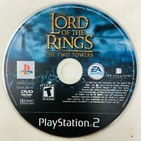 Lord of the Rings: The Two Towers (Sony PlayStation 2, 2004) PS2 Disc Only