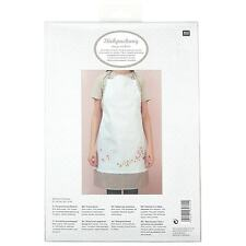 Rico Cherry Blossom Traced Apron Embroidery Kit * Post*xmas Gift