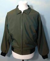 Relco Two Tone Tonic Harrington Jacket in Green Mod Tartan Lining, Size XS-2XL