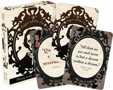 EDGAR ALLAN POE - PLAYING CARD DECK - 52 CARDS NEW - LITERATURE QUOTES 52425