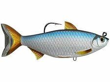LIVETARGET Blueback Herring Swimbait 5 1//2 inch Soft Body Top Hook Swimbait