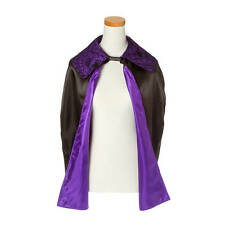 Claire's Halloween Purple Spider Cape Unisex One Size NWT
