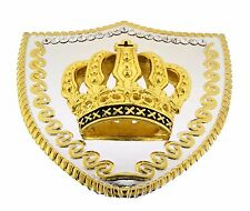 Men Women Crown Gold Belt Buckle Cowboy Papa Cowgirl Western Iced Out Bling New.