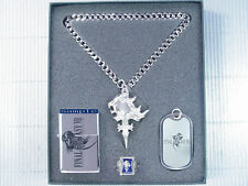 Final Fantasy VIII 8 FF8 Lion Heart Ring Dog Tag Necklace PG