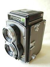 MEOPTA FLEXARET VI CZECH TLR 120 FILM CAMERA , 80mm f3.5 BELAR LENS AND CASE