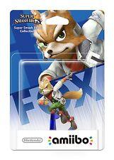 Nintendo amiibo Super Smash Bros. - Fox NO.6 Nintendo Wii U/3DS U.K. 1ST Run.