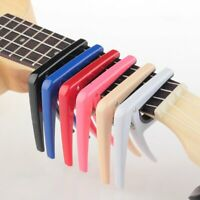 Guitar Capo For Electric Classic Ukulele Quick Change Tuner Trigger Key Clamp