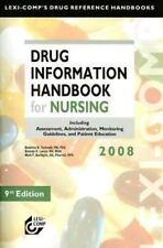 Lexi-Comp's Drug Reference Handbooks: Drug Information Handbook for Nursing by …