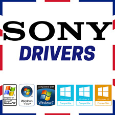 SONY VAIO Windows PC Laptop DRIVERS Recupero/Ripristino/Riparazione/Fissare XP/