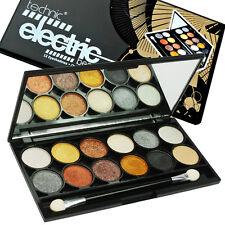 Technic Electric Eyes Metalix 12 Colour EyeShadow Palette Metallic Colours