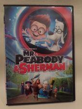 MR. PEABODY SHERMAN, DVD, SINGLE DISC W/CASE & COVER ARTWORK