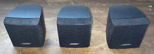 Bose Acoustimass Single Cube Speaker x3