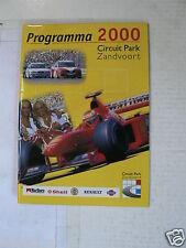 2000 PROGRAMMA CIRCUIT ZANDVOORT ALL RACES COMPLETE SEAZON
