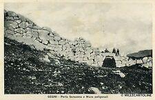 SEGNI - Porta Saracena e Mura poligonali - 1931