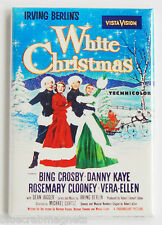 White Christmas FRIDGE MAGNET (2 x 3 inches) movie poster bing crosby