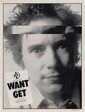 PIL Public Image Ltd Sex Pistols 'The Face' advert #2 DEF