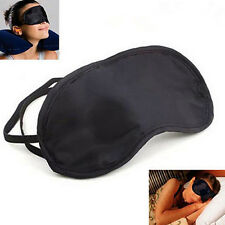 soft 10pcs Eye Mask Shade Cover Blindfold Night Sleeping Black  Comfortabe CHI