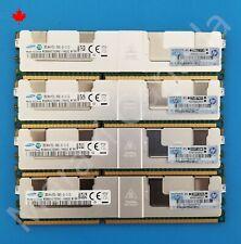 HP HPe 128GB 4x32GB 4RX4 PC3L-10600L RAM Memory 647654-081 664693-001 Gen 8 G8