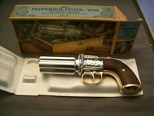 Avon Pepperbox Pistol Cologne Bottle In Original Box