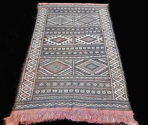 Rug Kilim Berber Moroccan Tribal Carpet Handmade Vintage Oriental Morocco Wool