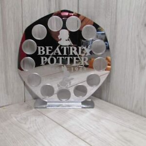 Beatrix potter silver 50p 13 coins display Stand royal mint 2018 mirror finish