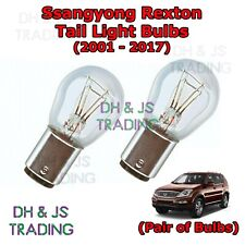 Ssangyong Rexton Tail Light Bulbs Pair of Rear Tail Light Bulb Lights (01-17)