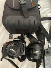 Nikon D3500 Digital SLR Camera - AF-P DX 18-55mm Lens  + Nikkor 50mm F1.8G + mem