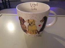 "Alex Clark Loyal Labs Mug Queens Churchill Delightful Dogs ""C"""