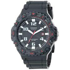 Casio New Original MRW-S300H-8B Black Analog Mens Watch Solar Powered MRW-S300