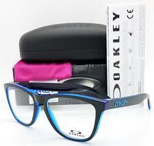 e4520e102b7 NEW Oakley Frogskins RX Prescription Frame Eclipse Blue  Black OX8131-0354  Frog
