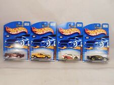 Lot of 4,  from Hot Wheels 2001 Company Cars Series 164 scale die-cast MIP