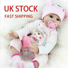 "22"" Reborn Baby Doll Real Lifelike Newborn Silicone Vinyl Baby Girl Dolls Gifts"