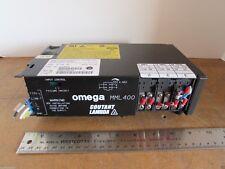 OMEGA Power Supply MML 400 NS-KLAS-100/MML400 100-240VAC PLC CNC 3D UK D40028