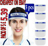 5 PACK Full Face Shield Visor Protection Mask Shield Safety Clear Anti fog PPE