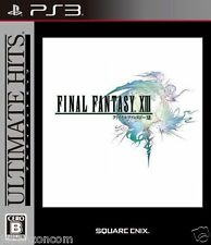 Used PS3 Final Fantasy XIII Ultimate SONY PLAYSTATION 3 JAPAN JAPANESE IMPORT