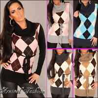 WOMEN KNITTED LONG SLEEVE JUMPER TOPS CASUAL SWEATER pullover AU size S M L XL
