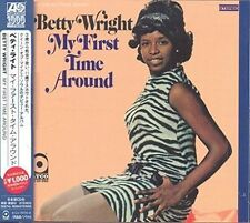 My First Time Around Japanese Atlantic Soul & R&b by Betty Wright Music CD
