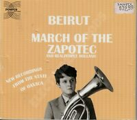 BEIRUT/REALPEOPLE MARCH OF THE ZAPOTEC/HOLLAND US 2009 POMPEII RECORDS POMP 001
