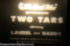 8mm silent film, Hal Roach Studios, Two Tars (1929) Laurel & Hardy 3 Reels