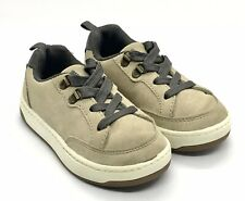 Carter's Toddler Boy Lace Up Shoes Size 7 Tan/Beige  & Gray Lace Up – OZZY2–CR