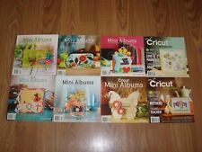Cricut Magazines/ Mini Albums Lot # 4