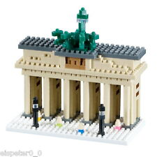 Brixies 200.043 - Brandenburg Gate, 3D Puzzle, Mini Blocks 570 Pieces