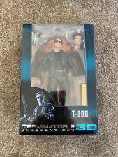 "Neca Terminator 2: Judgment Day 3D T-800 Arnold Schwarzenegger Action Figure 7""G"