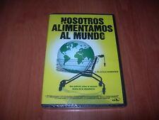 NOSOTROS ALIMENTAMOS AL MUNDO DVD EDICIÓN ESPAÑOLA PRECINTADO