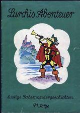 Lurchis Abenteuer lustige Salamandergeschichten 41.Folge von 1968 Werbecomicheft