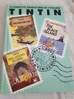 3 Adventures of Tintin broken ear black island King ottokar's sceptre  Vol 2