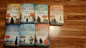 JEFFREY ARCHER  DIE CLIFTON SAGA  KOMPLETT  1 - 7
