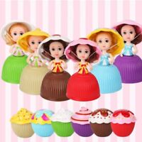 1Pc Lovely Surprise Cupcake Princess Dolls Transformed Scented Cake Girls Toys--